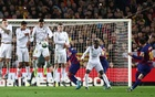 Barca, Real share spoils in rare goalless 'Clasico'
