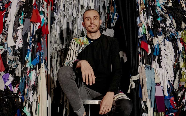 Daniel Silverstein, of Zero Waste Daniel, in his Brooklyn studio on Nov 6, 2019. We make too much, and we buy too much, but that doesn't have to mean we waste too much: Welcome to the growing world of trashion. The New York Times