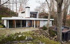 The weekend retreat of Justin and Samantha Barnes in Weston, Conn, on Dec 8, 2019. Their plan was to rescue and update the 1,747-square-foot home, and survive the process. The New York Times