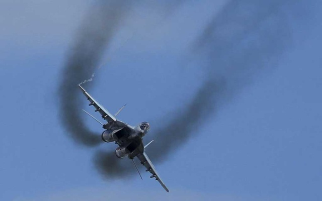 Iranian fighter jet crashes; pilot's fate unknown