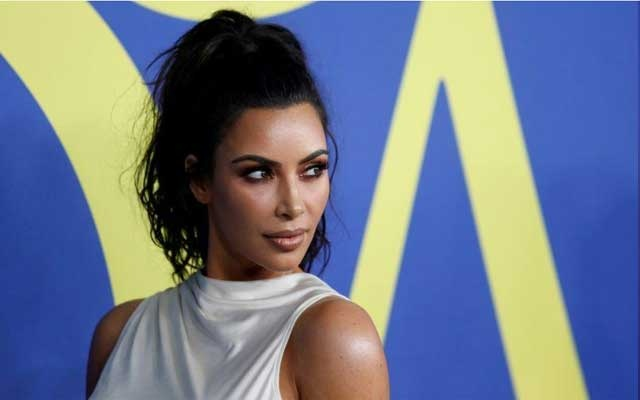 Kim Kardashian attends the CFDA Fashion awards in Brooklyn, New York, US, Jun 4, 2018. REUTERS