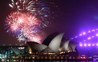 Fireworks are seen from Mrs Macquarie's Chair during New Year's Eve celebrations in Sydney, Australia, December 31, 2019. AAP Image for City of Sydney/Mick Tsikas/via REUTERS