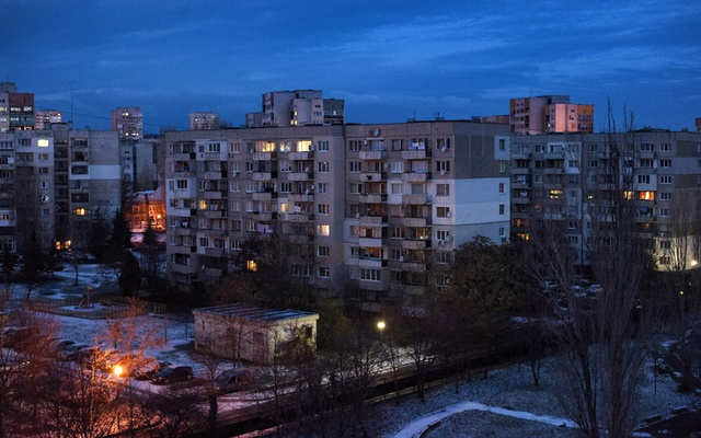 A suburb in Sofia, Bulgaria, Dec 7, 2013. Across the Balkan nations in southeastern Europe, successive governments have failed to address the earthquake risks posed by aging buildings. The New York Times