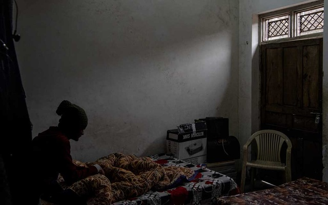 A 16-year-old who said he was among more than a dozen minors detained and abused by the police in Nagina, Dec 26, 2019. The New York Times