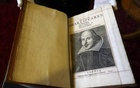 File Photo: A Shakespeare First Folio discovered nearly 400 years after his death is displayed at Mount Stuart, Isle of Bute, Scotland, Britain April 7, 2016. Reuters