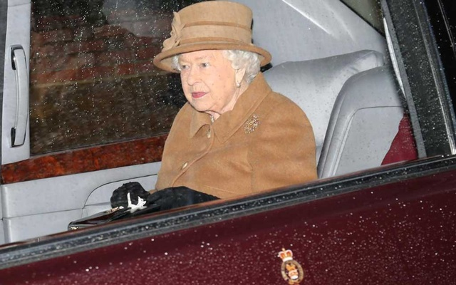 Britain's Queen Elizabeth departs from St Mary Magdalene's church on the Sandringham estate in eastern England, Britain January 12, 2020. Reuters