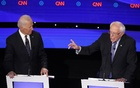 Sanders and Biden clash on foreign policy, trade in debate in Iowa