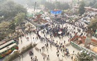 DU students protest at Shahbagh demanding deferral of Dhaka city election
