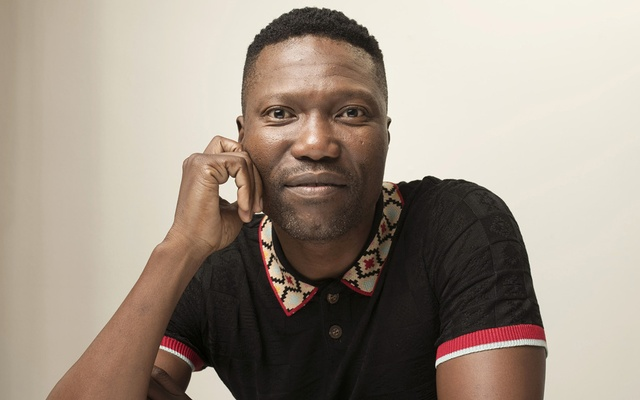 """Gregory Maqoma, the South African choreographer whose """"Cion: Requiem of Ravel's Boléro"""" is touring North America, in New York, Jan 13, 2020. Maqoma's work borrows from Western and South African cultures and doesn't deconstruct traditional rituals and codes but uses them to tell contemporary stories. The New York Times"""