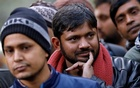 India's left-wing youth leader Kanhaiya Kumar gestures as he attends a protest against the attacks on the students of Jawaharlal Nehru University (JNU), in New Delhi, India, Jan 9, 2020. REUTERS