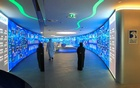 Employees are seen at the Panorama Digital Command Centre at the ADNOC headquarters in Abu Dhabi, UAE December 10, 2019. Reuters