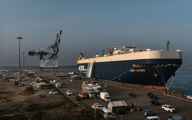 FILE -- The Hambantota Port, which the Sri Lankan government handed over to China when it couldn't repay its debt, in Hambantota, Sri Lanka, March 5, 2018. Deals by Chinese companies to build ports, telecom networks and other infrastructure in poor countries have picked up, alarming some in the West. (Adam Dean/The New York Times)