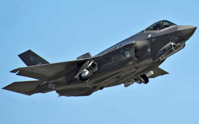 File Photo: An F-35A Lightning II Joint Strike Fighter takes off on a training sortie at Eglin Air Force Base, Florida in this March 6, 2012 file photo. REUTERS