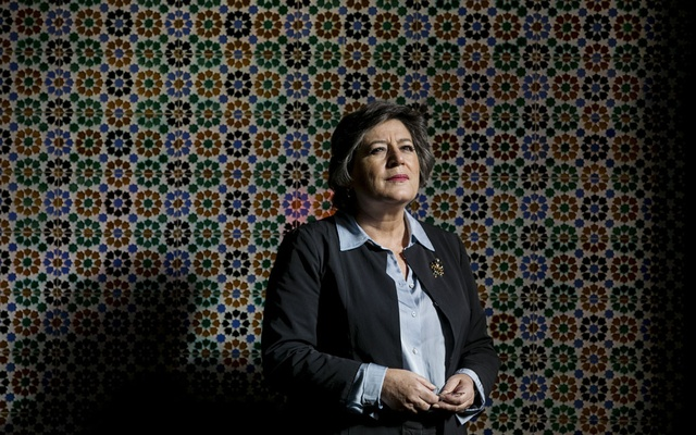 Ana Gomes, a former European Parliament member who has accused Isabel dos Santos of money laundering, in Lisbon, Portugal, Jan 8, 2020. Dos Santos, the daughter of Angola's former president, built an empire in a country mired in corruption. Western consultants were her advisers. The New York Times