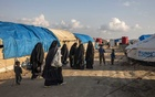 A detention camp for women and children who fled areas controlled by the Islamic State group, in Kurdish controlled northern Syria, March 28, 2019. The New York Times