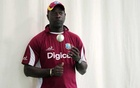 West Indies head coach Ottis Gibson during nets Mandatory. Reuters