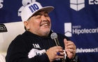 Argentine club makes throne for coach Maradona