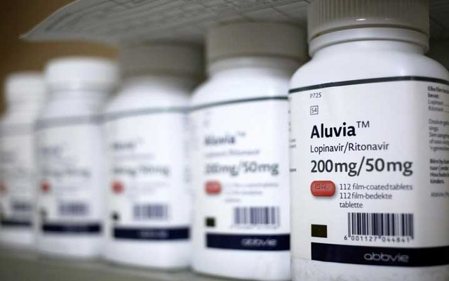 FILE PHOTO: Aluvia, an antiviral medicine is seen at a clinic pharmacy in Alexander township, South Africa, March 14, 2018. REUTERS/Siphiwe Sibeko/File Photo