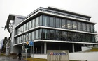 Picture shows the headquarters of the German company, Webasto, where two employees have tested positive for the coronavirus, in Stockdorf near Munich, Germany, January 28, 2020. Reuters