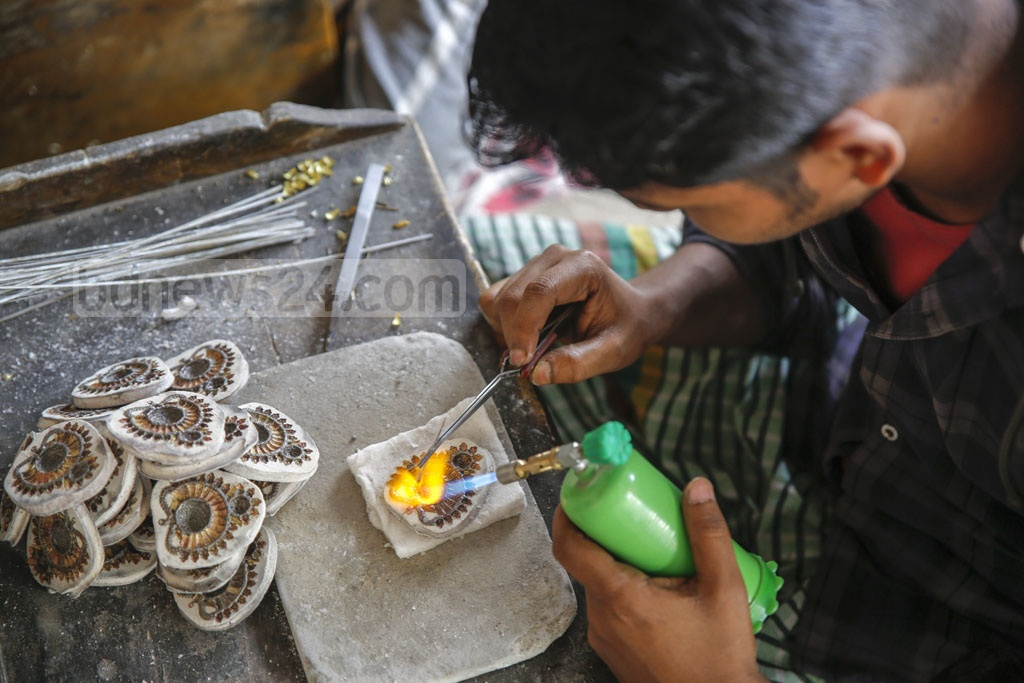 Savar's Bhakurta Union is known as a village of jewellers after many of its residents took up the profession during the British rule. Photo: Mahmud Zaman Ovi