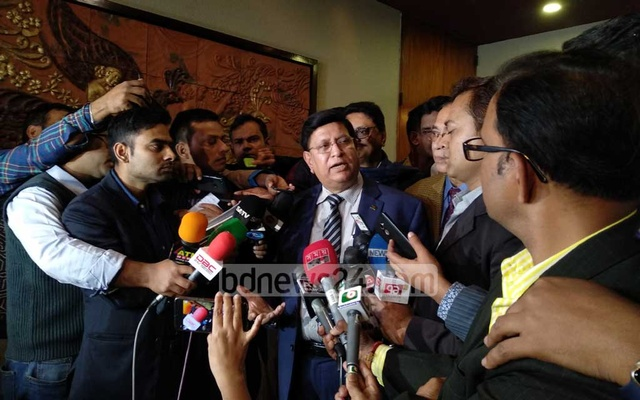 Foreign Minister AK Abdul Momen says it would have been possible to evacuate the Bangladeshis from China if the government could manage a chartered Chinese plane.