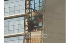 Fire erupts at multi-storey DR Tower in Dhaka's Paltan