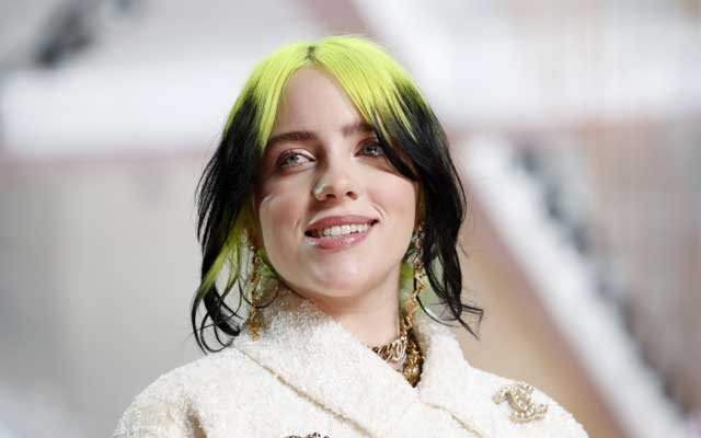 Billie Eilish in Chanel during the Oscars arrivals at the 92nd Academy Awards in Hollywood, Los Angeles, California, US, February 9, 2020. REUTERS