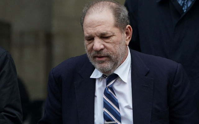 Film producer Harvey Weinstein departs New York Criminal Court during his ongoing sexual assault trial in the Manhattan borough of New York City, New York, US, February 13, 2020. REUTERS