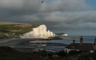 FILE -- The Seven Sisters cliffs at Birling Gap, England, Aug 17, 2018. A proposal to build two huge barriers, one that would connect Norway to Scotland, the other France to England, was described as a warning about the urgency of the climate crisis and together, the mammoth structures proposed by scientists would completely enclose the North Sea and offer protection for tens of millions of Europeans threatened by rising sea levels. (Andrew Testa/The New York Times)