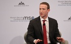 Facebook Chairman and CEO Mark Zuckerberg speaks during the annual Munich Security Conference in Germany, February 15, 2020. REUTERS