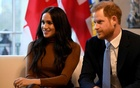 Britain's Prince Harry and his wife Meghan, Duchess of Sussex visit Canada House in London, Britain Jan 7, 2020. REUTERS