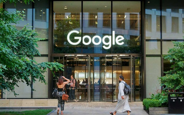 FILE -- Google's offices in London on June 26, 2019. The world's top economic leaders warned at the G20 that an international tax fight between the United States and Europe poses a new threat to the global economy if a resolution is not reached this year. (Ben Quinton/The New York Times)