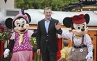 Bob Iger, chairman and chief executive of the Walt Disney Company, at the opening ceremony of the