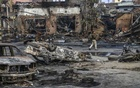 A man walks through destruction remains from deadly riots in New Delhi on Wednesday, Feb. 26, 2020. A local Hindu politician told the police to evict a group of Muslim protesters or he and his men would and now, many have died in some of the worst violence in decades. (Atul Loke/The New York Times)