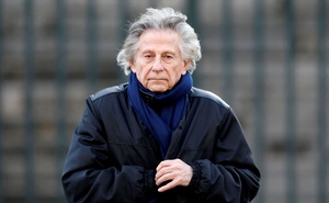 Film director Roman Polanski arrives at the Madeleine Church to attend a ceremony during a 'popular tribute' to late French singer and actor Johnny Hallyday in Paris, France, Dec 9, 2017. REUTERS