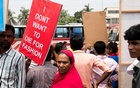 A protest in Dhaka on the sixth anniversary of the Rana Plaza collapse, on April 24, 2018. The New York Times