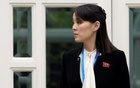 Kim's sister uses first-ever statement to slam South Korea