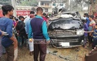 At least 10 people were killed and four others injured when a microbus carrying members of a family and their relatives from Dhaka to Sunamganj lost control on the Dhaka-Sylhet Highway and hit a tree on Friday morning.