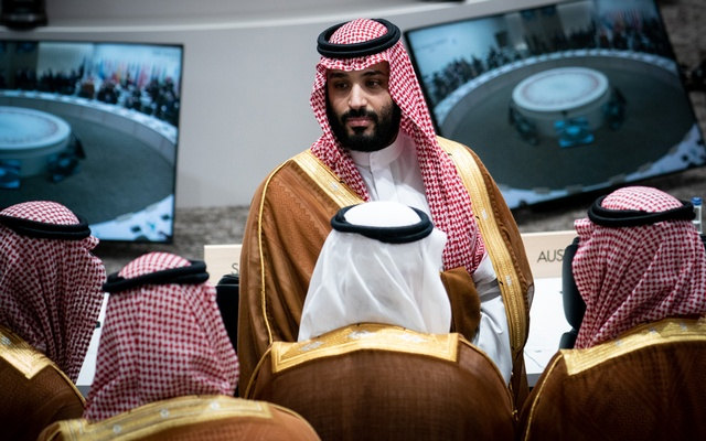 FILE -- Crown Prince Mohammed bin Salman of Saudi Arabia attends a session regarding women's empowerment and labour issues at the G-20 Summit in Osaka, Japan, June 29, 2019. (Erin Schaff/The New York Times)