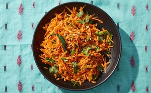 Gajjara kosambari (carrot salad), in New York, Feb 18, 2020. The New York Times
