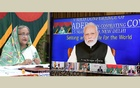 Sheikh Hasina, Narendra Modi and other SAARC leaders met virtually to discuss the coronavirus situation on Mar 15, 2020.