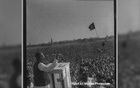 Bangabandhu's historic speech at Ramna Racecourse. Mar 7, 1971. Photo: Nasir Ali Mamun, Photoseum