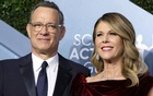 Tom Hanks and Rita Wilson. REUTERS