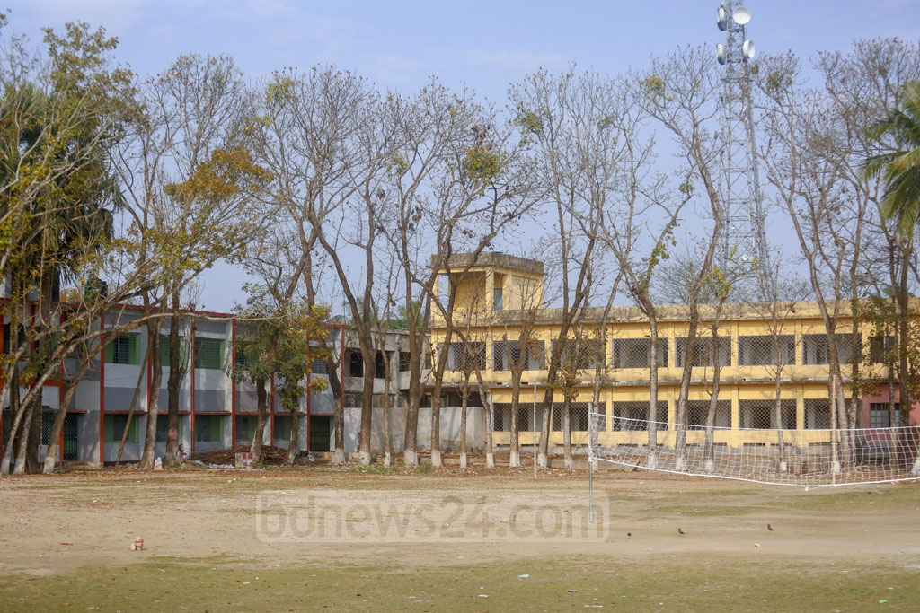 In 1950, Madaripur High School and Madaripur Islamia High School were together renamed 'United Islamia High School', which is the present name of the institution. Photo: Mahmud Zaman Ovi