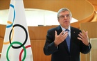 Thomas Bach, President of the International Olympic Committee (IOC) attends an interview after the decision to postpone the Tokyo 2020 because of the coronavirus disease (COVID-19) outbreak, in Lausanne, Switzerland, Mar 25, 2020. REUTERS