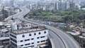 An empty Mayor Hanif Flyover is pictured on the first day of a 10-day general holiday announced by the government to stem coronavirus spread in Bangladesh. Photo: Asif Mahmud Ove