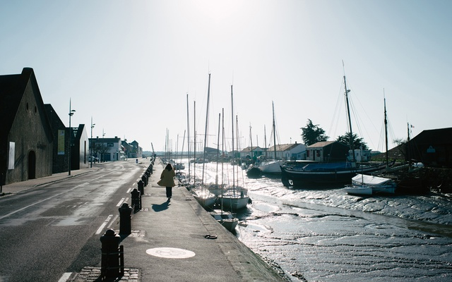 The central area of the French island of Noirmoutier, March 24, 2020. In France and across Europe, affluent city dwellers have been decamping epicentres of the crisis to their second homes, bringing fears that they will spread the virus to regions with few hospitals to handle a surge in the sick, putting at greater risk local residents who tend to be older and have limited incomes. (Dmitry Kostyukov/The New York Times)