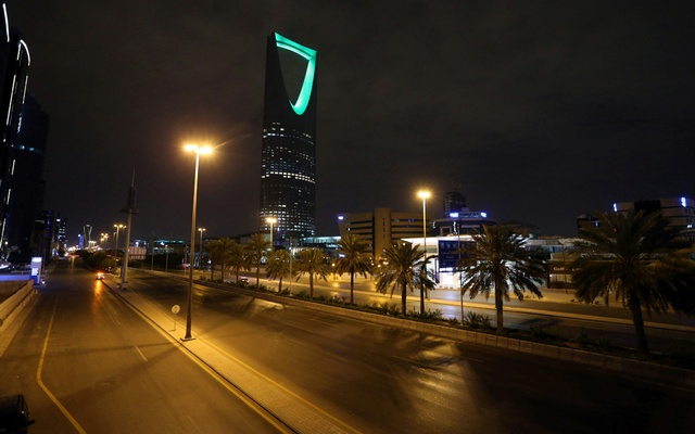 File Photo: A general view shows an empty street after a curfew was imposed to prevent the spread of the coronavirus disease (COVID-19), in Riyadh, Saudi Arabia March 24, 2020. Reuters