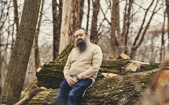 Dr Vladimir Zelenko, who claims to have cured hundreds of coronavirus patients with the antimalarial drug hydroxychloroquine, azithromycin and zinc sulfate, outside his office in Monsey, NY, March 30, 2020. The New York Times