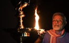 Indians light lamps to challenge darkness of coronavirus crisis